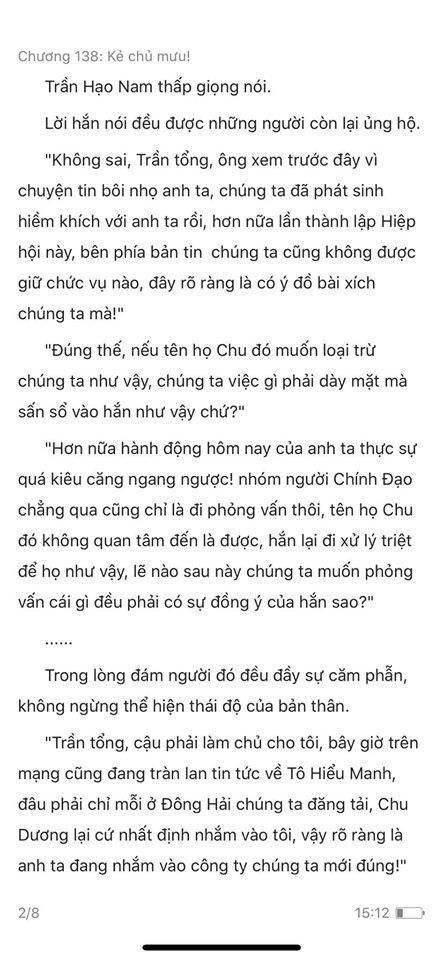chàng rể đại gia chương 138