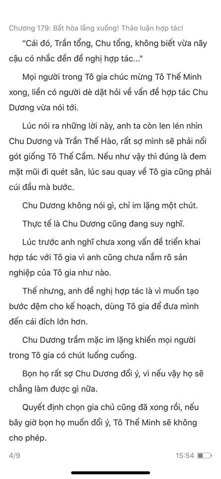 chàng rể đại gia chương 179