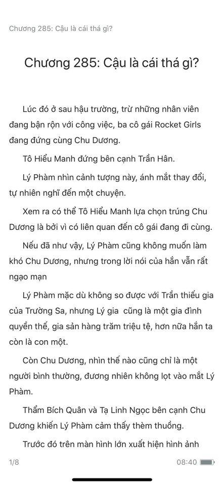 chàng rể đại gia chương 285
